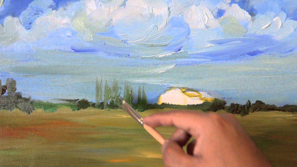 example de peinture a l`huile