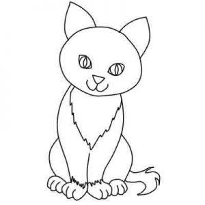Comment dessiner le chat sur les cours de dessin paris artacad mie - Comment dessiner un bebe chat ...