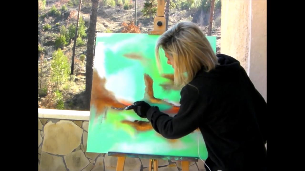 cours de peinture a l`huil debutente