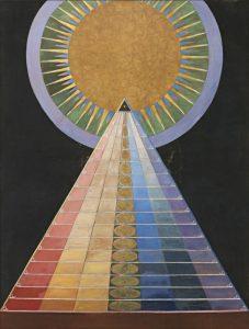 ecolde-de-peinture-exposer-les-sphere-de-hilma-klimpt