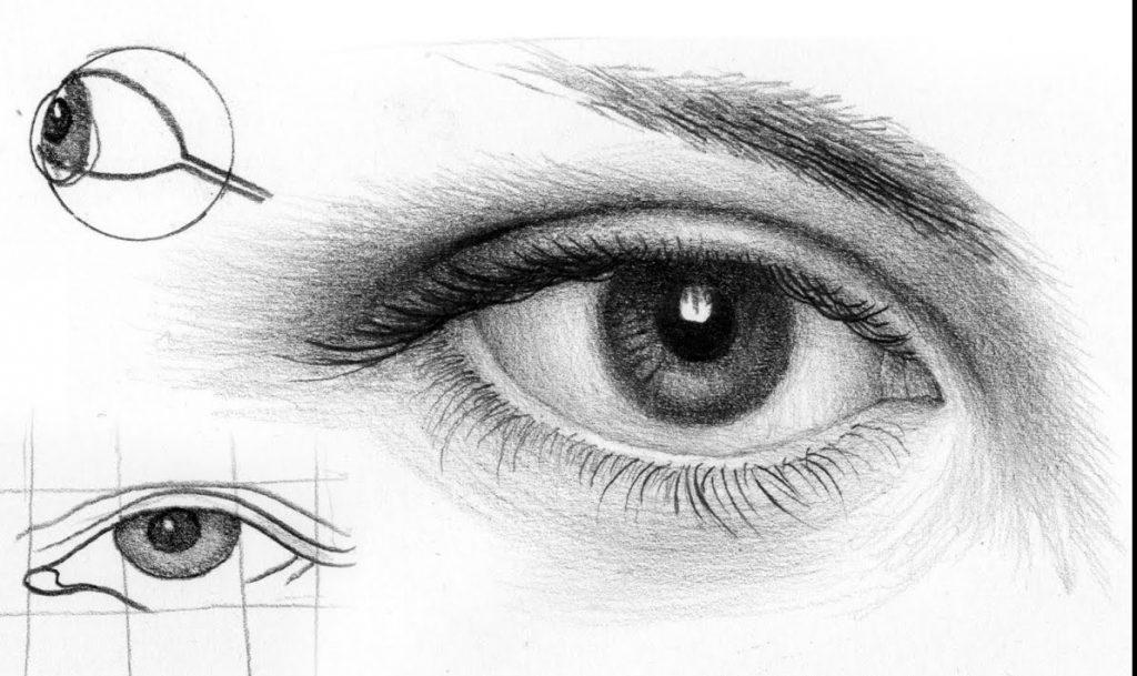 cours de dessin-les-yeux