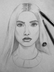 resultat de dessin d`autoportrait