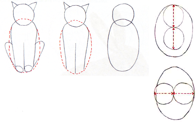 Comment dessiner un chat sur stage de dessin gratuite artacad mie - Chat facile a dessiner ...