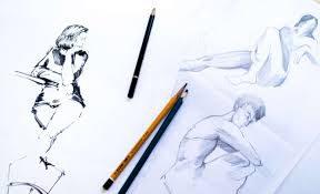 stage de dessin au crayon