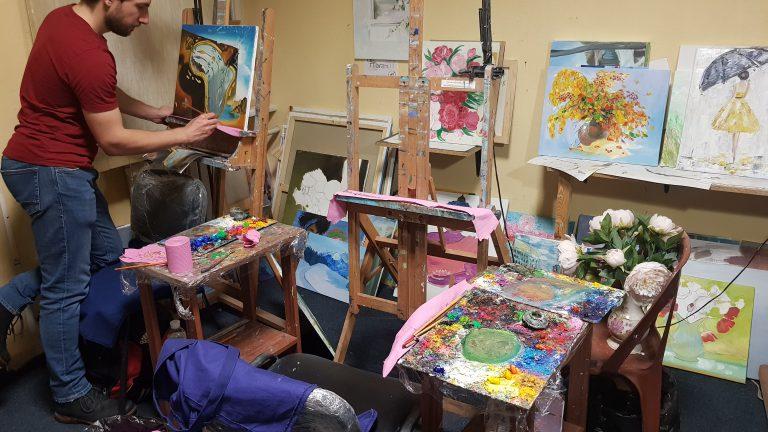 stage de dessin dans les cours de dessin Artacademie paris