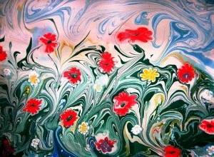 fleurs-comment-dessiner-les-avec-acryl-sur-toile-en-technique-abstrait