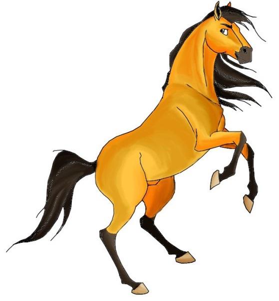 Comment dessiner un cheval artacad mie - Cheval facile a dessiner ...